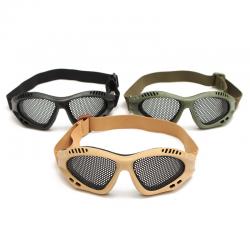 Okulary taktyczne metalowa siatka - A-TACS FG